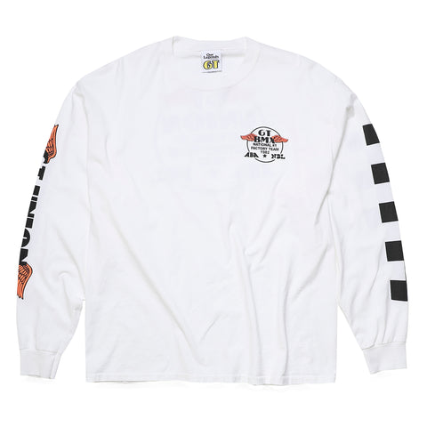 GT x UNION Factory Long Sleeve - White