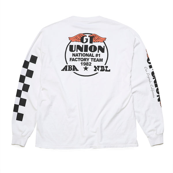 GT x UNION Factoty Long Sleeve - White