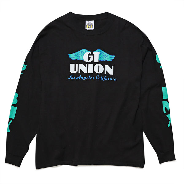 GT X UNION Wings Long Sleeve - Black