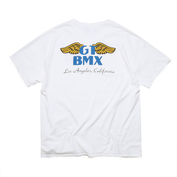 GT x UNION Wings Tee - White