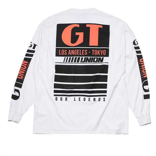 GT x UNION Team Long Sleeve - White