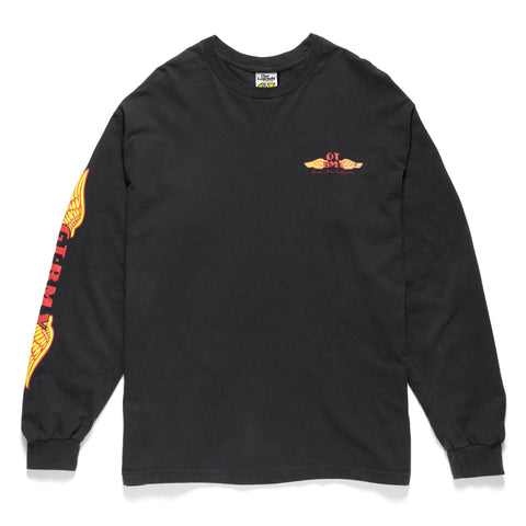 GT Wings Long Sleeve - Black