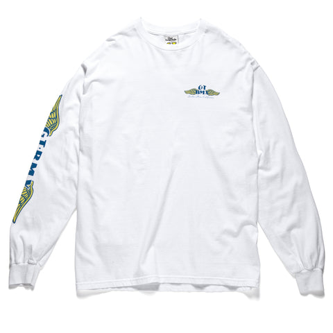 GT Wings Long Sleeve - White