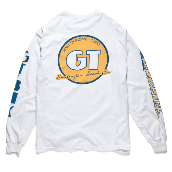 GT Pro Performer Long Sleeve - White/Yellow
