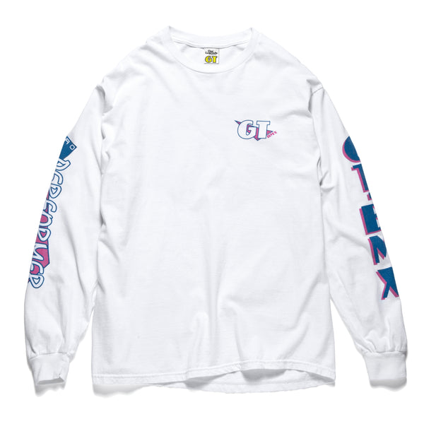GT Pro Performer Long Sleeve - White/Red