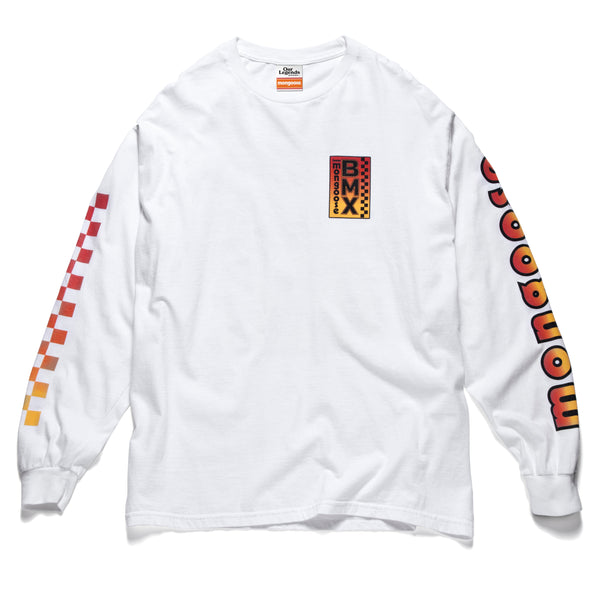 Team Mongoose BMX Long Sleeve - White