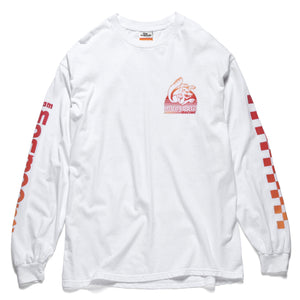 Team Sunset BMX Long Sleeve - White