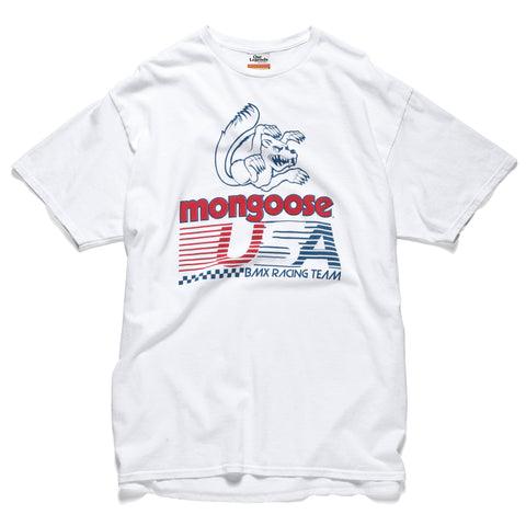 Mongoose USA T-shirt - Vintage White