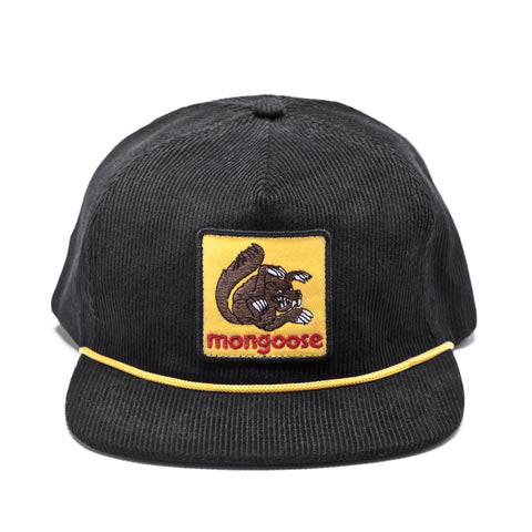 Mongoose Corduroy W/ Patch Hat