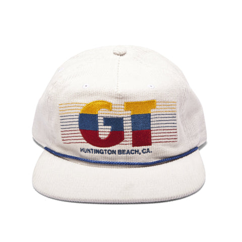 GT x UNION Corduroy W/ Embroidery Hat - White