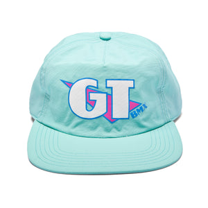 GT Nylon Crinkle Hat - Blue