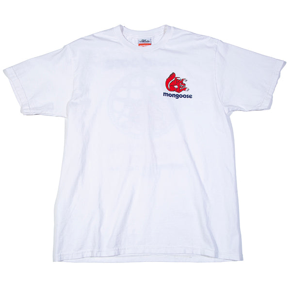 Mongoose USA Winners' Choice Tee - White w/ Red & Blue