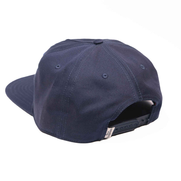 Mongoose Canvas Hat w/Patch Hat - Navy