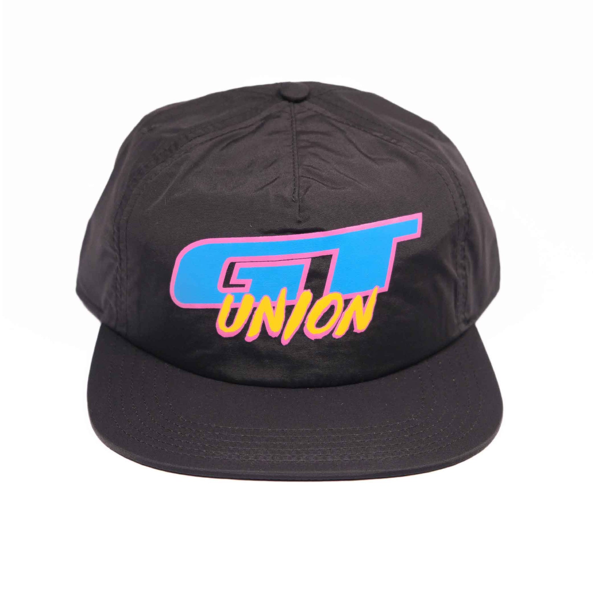 GT x UNION Nylon Hat - Black