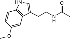 Melatonin Structure