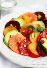 Beet, Citrus, and Avocado Salad
