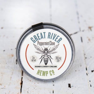 Peppermint-Clove Hand & Body Cream