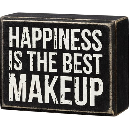 Happiness is the BEST Makeup - PBK