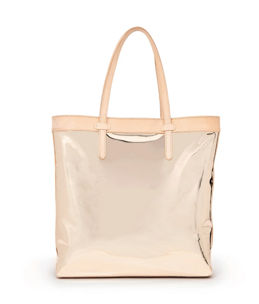 CONSUELA Goldie Gold Slim Tote