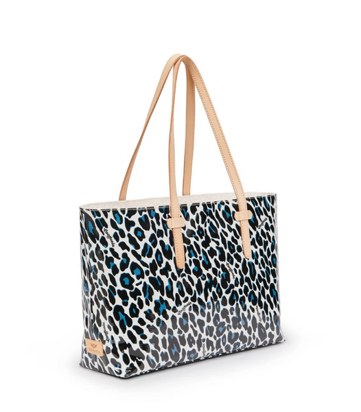 CONSUELA Lola Blue Jag East West Tote