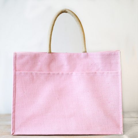 THE JUTE POCKET TOTE