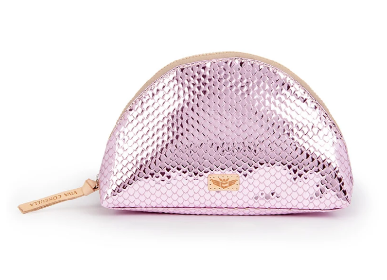 The Elle Pink Large Cosmetic Bag (A)