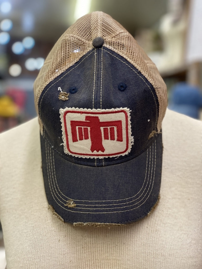 Denim THUNDERBIRD Ball Cap (A)