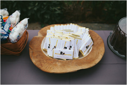 Rescue Chocolate Wedding Favors