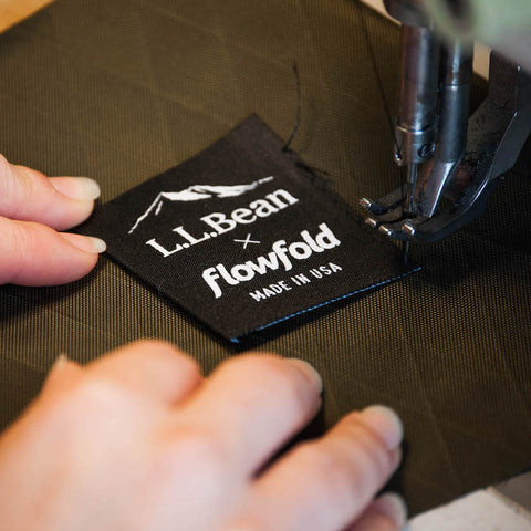 Flowfold LLBean Collaboration Collection Logo