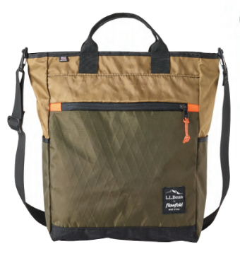 Flowfold x LLBean Crossbody Tote Bag for Women