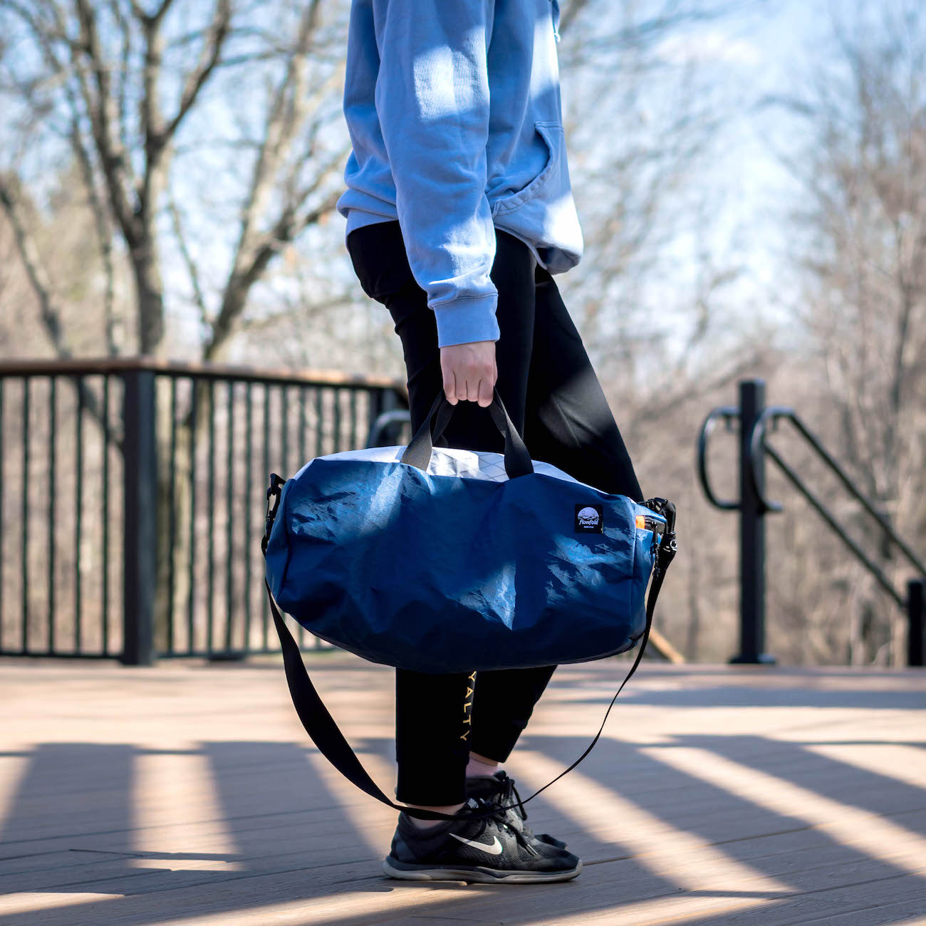 packable carry on duffle