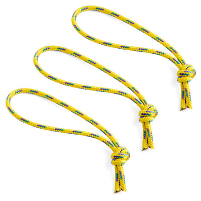 Flowfold Yellow Zipper Pulls set of 3