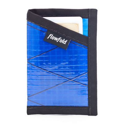 Recycled Sailcloth ID Minimalist - Card Holder Wallet With ID Window