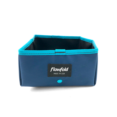Flowfold Trailmate Dog Travel Bowl side view