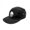 Flowfold Island Logo Jet Black Performance hat for running and hiking