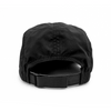 Flowfold Island Logo Jet Black Performance hat adjustable velcro strap one size fits all