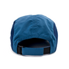 Flowfold Island Logo Navy Blue Performance hat adjustable velcro strap one size fits all