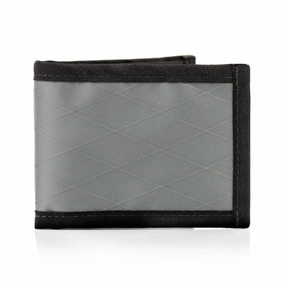 Flowfold Lightweight Ultrathin Vanguard Bifold Wallet Made in Maine Slate Grey