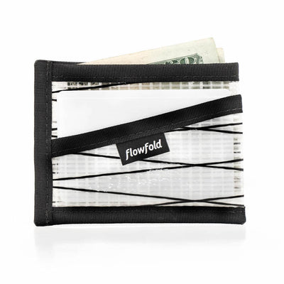 Flowfold Recycled Sailcloth Craftsman Three Pocket Wallet slim minimalist wallet