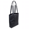 Flowfold Jet Black/Silver Weather Resistant Classic Tote Bag for Everyday Carrying Needs