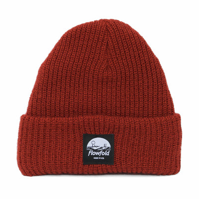 Flowfold Rust Island Icon Lightweight Beanie Hat