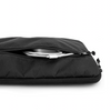 Flowfold laptop case computer sleeve jet black pocket for charger