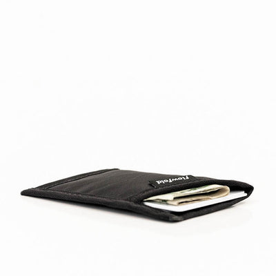 Flowfold Minimalist ID Card Holder For Cards and Cash Made in USA - Ultrathin front pocket wallet