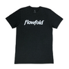 Men's Black Flowfold T-Shirt