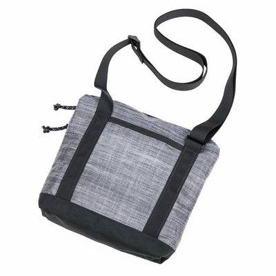 Flowfold Muse 2L Crossbody Bag Heather Grey rear view