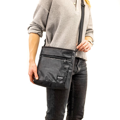 Flowfold Mini Odyssey Small Crossbody Bag On model