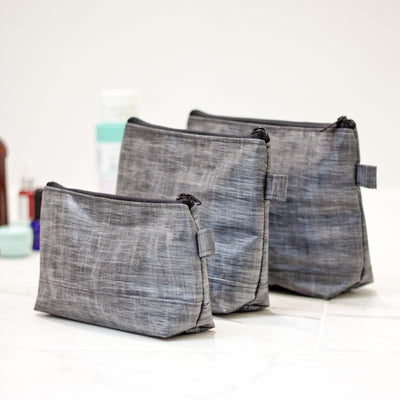 Flowfold Lander Standing Utility Pouch Set travel toiletry case