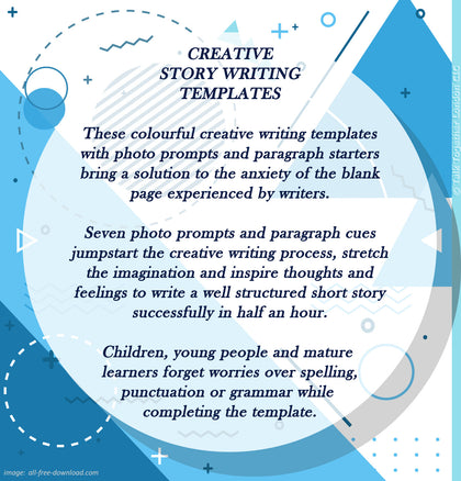 Creative Story Writing Templates