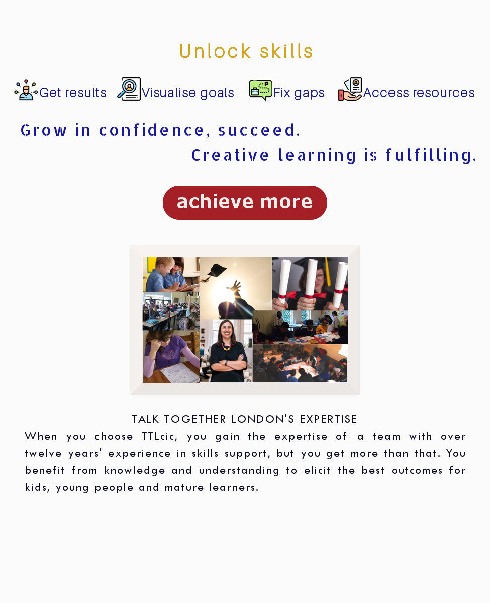 Achieve more at Talk Together London