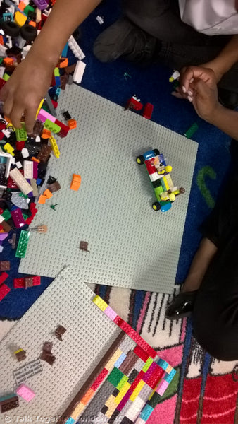 TTLCIC - Lego Stories in North Kensington Library